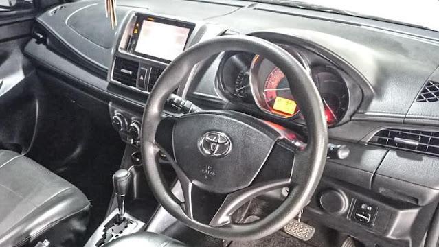 Interior Dasboard Yaris G 2015