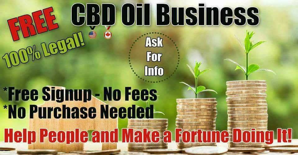 Free CBD Oil Business Pic.