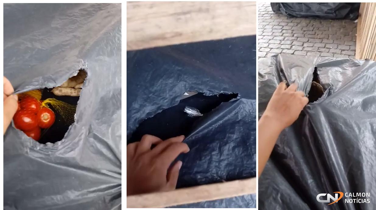 Mulher tem produtos roubados de barraca em feira livre no centro de Piritiba