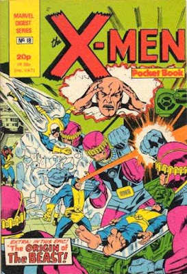 X-Men pocket book #18
