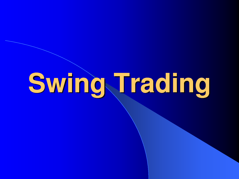 Swing trader forex