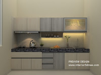 Jasa gambar kitchen set murah
