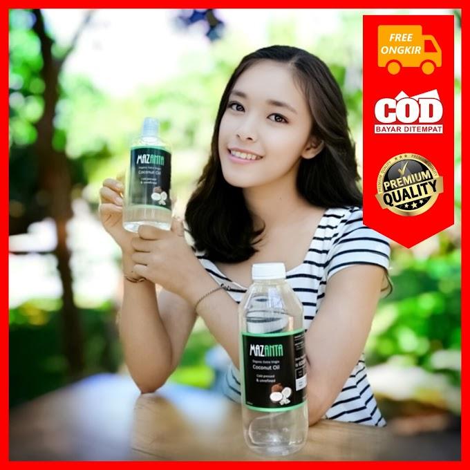 Mazanta VCO - Minyak Kelapa Murni Premium 100% Asli, Organik, Tanpa Pemanasan dan Dari Buah Kelapa Unggulan