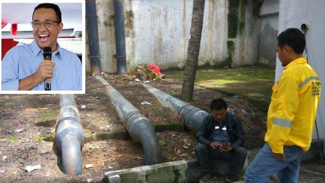 Upaya Anies Cegah Banjir Dijegal, Kabel Listrik Rumah Pompa Dukuh Atas Dipotong