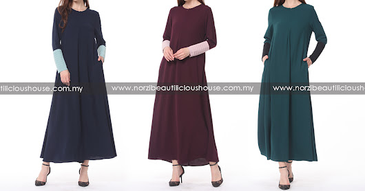 NBH0566 JUBAH LAYYINAH (PLUS SIZE,NURSING & WUDHUK FRIENDLY)