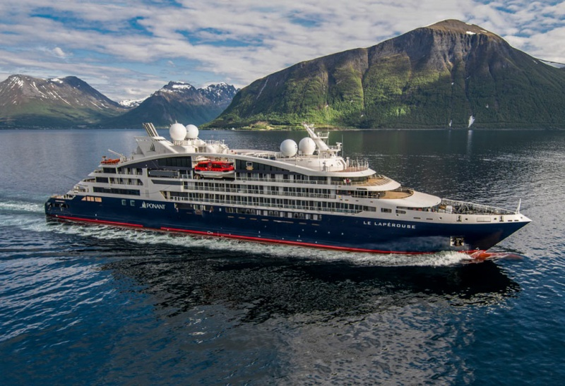 Ponant will start cruisin in New Zealand on February 2021