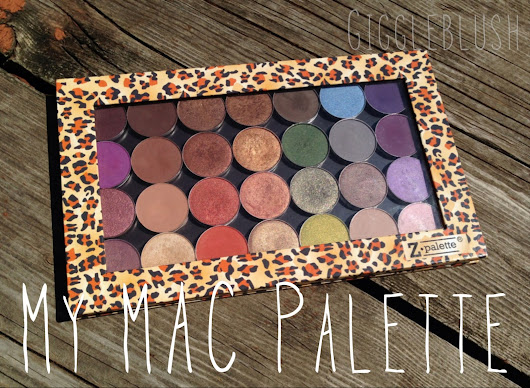 Finally Finished: My MAC Palette!