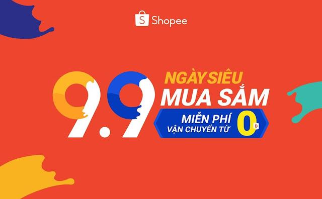 miễn phí vận chuyển đơn 0đ duy nhất 9.9 tại shopee
