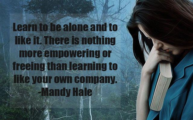Sad Alone Quotes