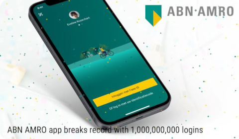 ABN AMRO app breaks record