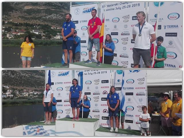 Γιάννενα: Έντεκα μετάλλια για την ελληνική ομάδα στο Πανευρωπαϊκό Πρωτάθλημα Θαλασσίου Σκι 35+