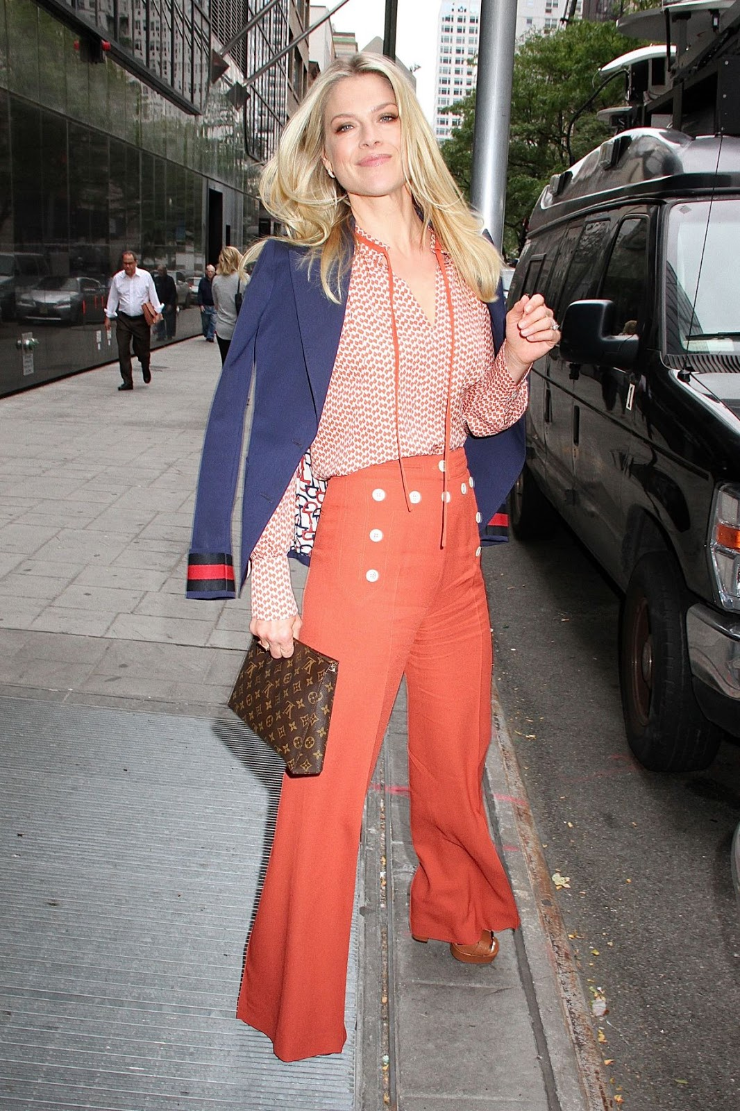 HQ Photos of Ali Larter Leaves Good Day New York In New York
