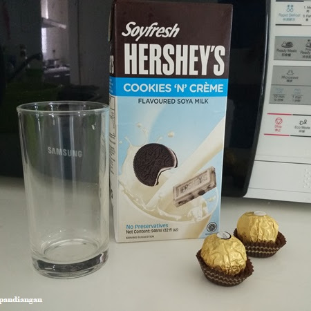 Review: Drinking Soyfresh Hershey's Cold