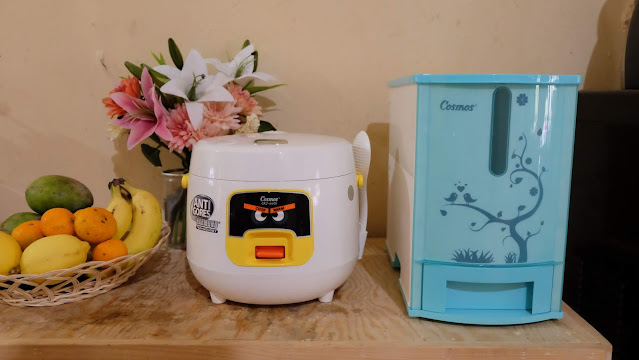 Rice cooker sehat Cosmos Harmond