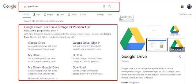 Cara Membuat Akun Google Drive Dengan Mudah Bagi Pemula - Gatewayilmu.com