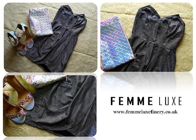 sukienki Femme Luxe  Finery - luxegal - Femme Luxe shopping haul - Femme Luxe review - sukienki na imprezę - sukienki na wesele - sukienki z ekoskóry - sukienki na randkę - eleganckie sukienki - www.femmeluxefinery.co.uk