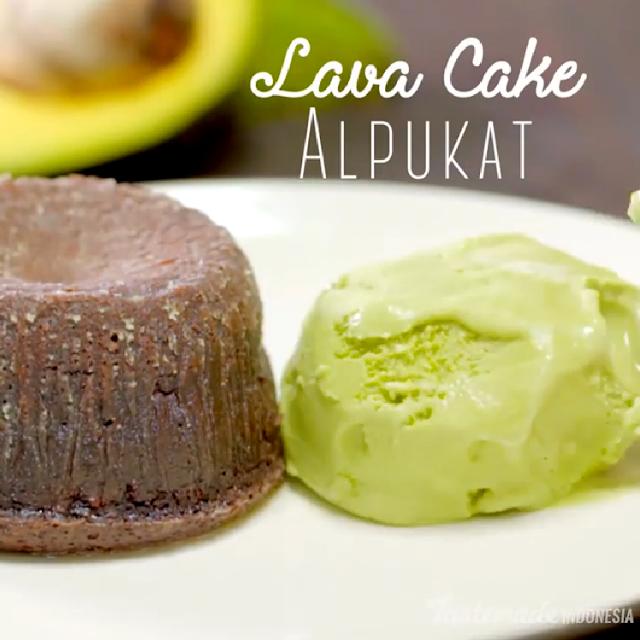 Gambar Resep Cara Membuat Lava Cake Alpukat Enak dan Sederhana