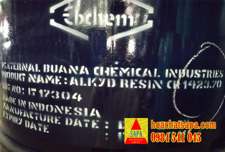 Alkyd resin 1423 - 70 nhựa alkyd short oil