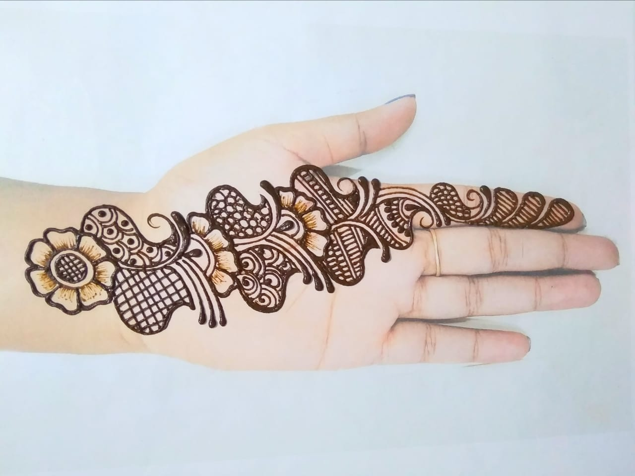 Best Simple Mehndi Design Pictures 2020