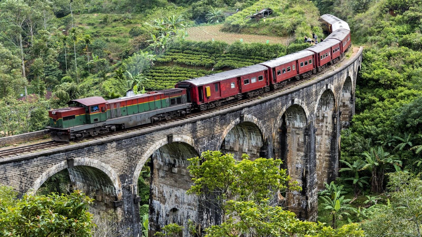 Download Trains on Bridges PREMIUM, Tema per Windows 10
