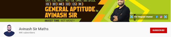 Avinash Sir Maths