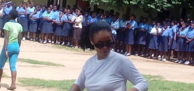 Pop singer Rihanna visits Malawi to promote education through her Clara Lionel Foundation.