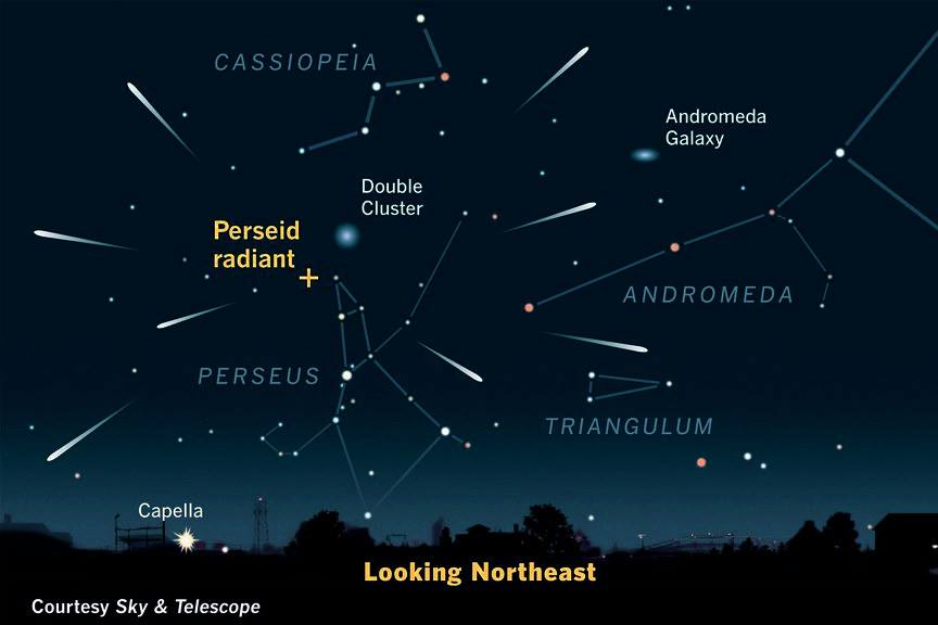Perseids Meteor Shower tonight (12 Aug) | The Wacky Duo ...