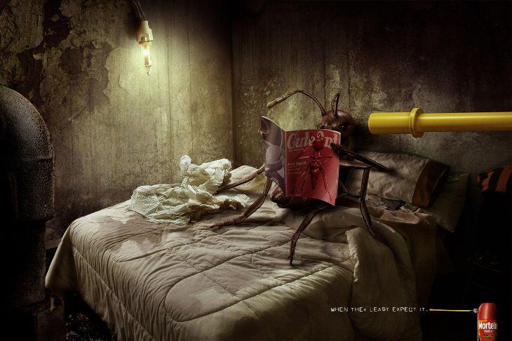 Mortein - Ads - Roach