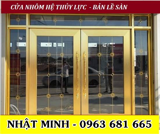Mẫu Cửa Nhôm Xingfa Nan Hoa Đồng Sang Trọng