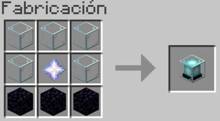 Crystals, obsidian and a Nether star is all you need to craft a fato