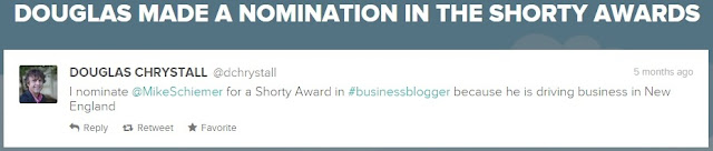 mike schiemer shorty awards finalist tweets