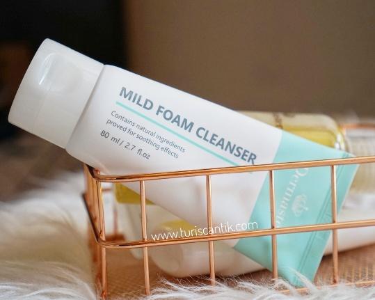 dermaster mild foam cleanser