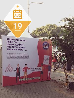 Kampanye Jalan Hijau merupakan bagian dari aksi peduli kesehatan dan lingkungan