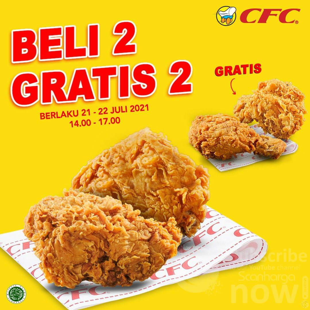 Promo CFC Flash Sale - Beli 2 Gratis 2*