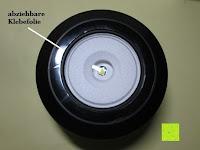 Klebefolie: OUTAD 2-in-1 Outdoor Wireless Bluetooth Lautsprecher & LED Lampe mit eingebautem Mikrofon, einstellbarem Licht und Broadcom 3.0