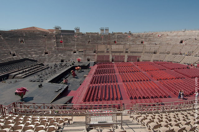 Anfiteatro romano en Verona que ver viaje Italia
