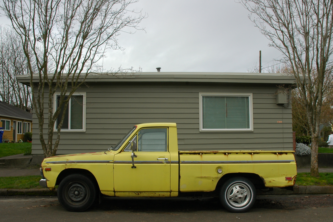 old parked cars 1974 ford courier. Black Bedroom Furniture Sets. Home Design Ideas