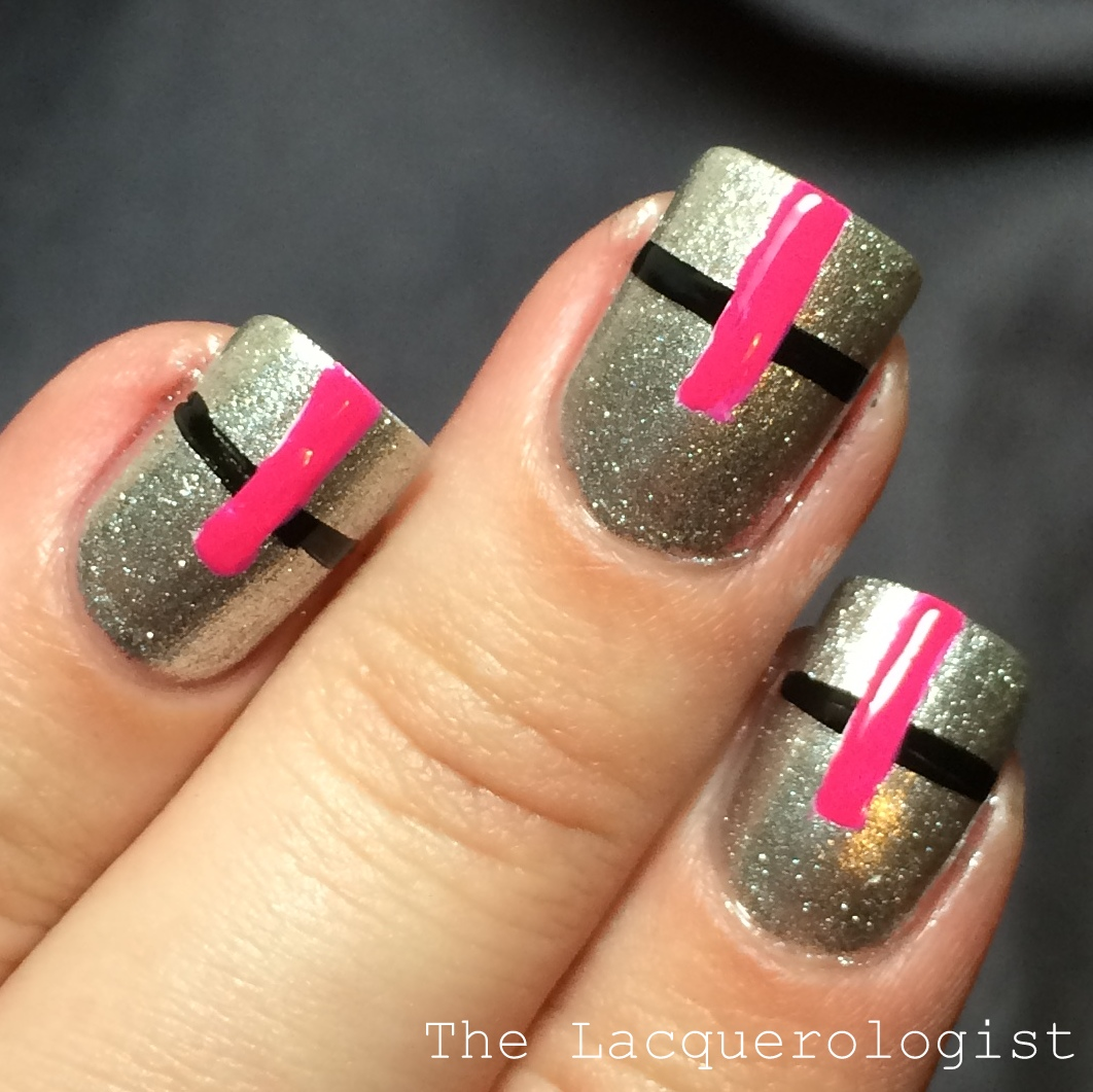 Q Riouser Q Riouser Nail Art: Matching Nail Art & Arm Candy With Q&Q! • Casual Contrast