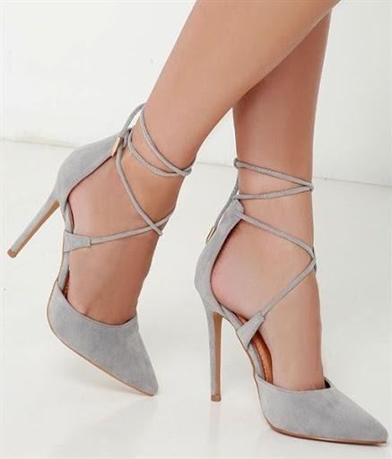model sepatu dan sandal heels tali wanita terbaru 2017/2018