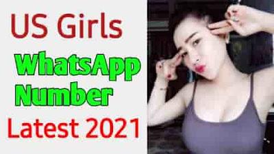 Real USA Girls Whatsapp Mobile । USA Girls Mobile number List 2021