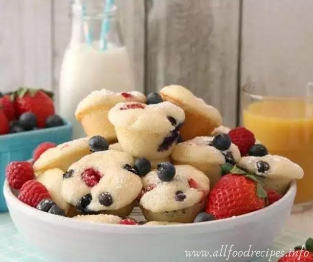 Recipe Berry Protein Pancake