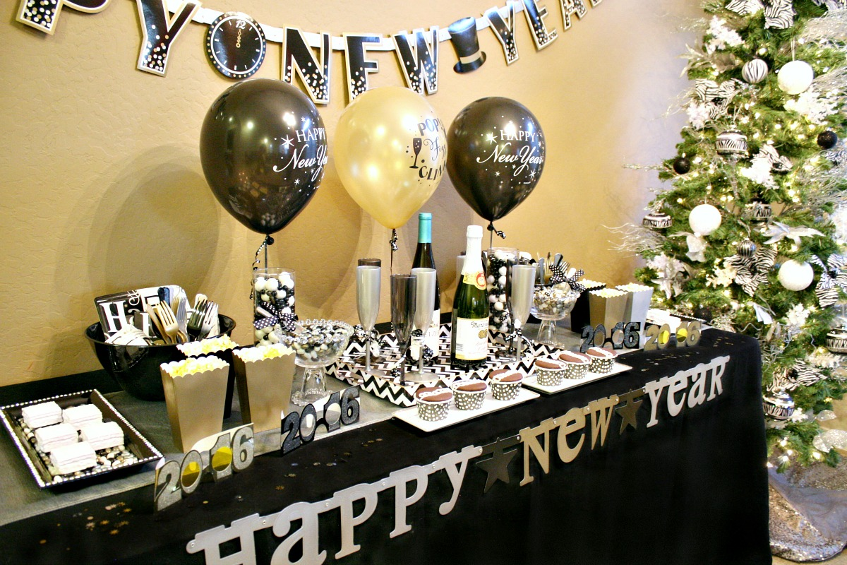 Happy New Year Decoration Ideas Elitflat