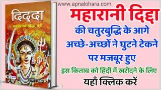 Lohara Vansh Ki Beti Queen Didda, Didda: the warrior Queen of Kashmir, Rani Didda in Hindi, Queen Didda dynasty