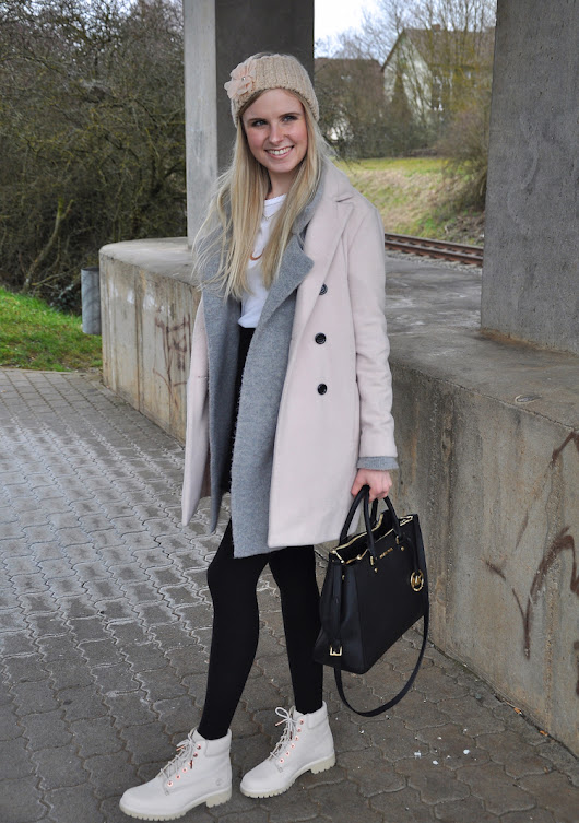 Outfit mit hellen Timberlands - London Haul #part2