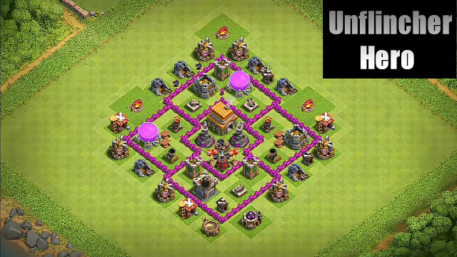 Best Town Hall 6 Th6 Farming Base Layout