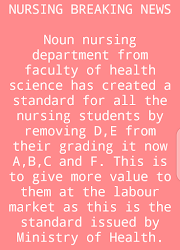 *UPDATE FOR NURSING STUDENTS
