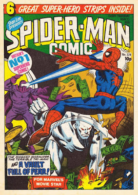 Spider-Man Comic #324, the Masked Marauder