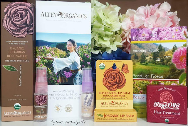 alteya organics bulgarian rose