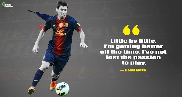 Lionel Messi Motivational Quotes