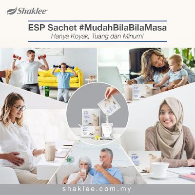 Produk Terbaru ESP Sachet Shaklee